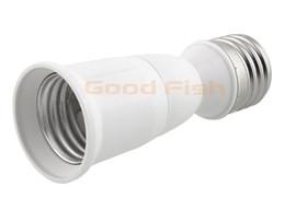 Wholesale E27 to E27L Base LED Light lampholderAdapter Converter Screw Socket Factory direct light fittings