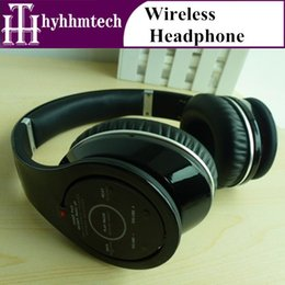 Wholesale Wireless Stereo Bluetooth Headphones Over ear DJ headsets ALL new With Sealed box and accessery headphone For iPhone Samsung LG
