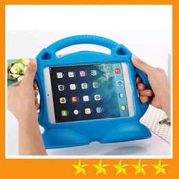 Wholesale EVA material non toxic Foam Children Kids Shockproof Protection Protective Case Cover for iPad mini1 Air Portable stand Holder