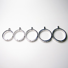 NEW Round pin card ring stainless steel chastity device special card ring MKR921 Flat ring B