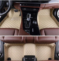 Wholesale Best quality Custom special floor mats for Mercedes Benz GL X164 seats Easy to clean carpets for GL350