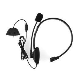 2017 casque stéréo xbox Gros-Hot casque écouteurs Over-tête casque noir W / MIC W / Volume Stereo Pour Xbox 360 Live pour Xbox360 léger et confortable casque stéréo xbox sur la vente