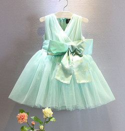 2015 summer new fashion girls tutu skirt girls princess dress kids formal dress bowknote dress girls veil dress free shipping