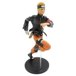 Japanese Anime Action Figure Naruto Uzumaki Movie The Last Naruto Running Naruto PVC Model Toy Without Box 23cm