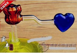 Free shipping wholesale Hookah Accessories - Hookah accessories [Rose] heart burn pot, color random delivery, large better