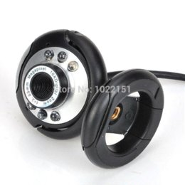 1pcs Hot Selling 80.0M 6 LED USB Web Cam Camera 80MP Webcam With Mic For Desktop Laptop Computer New