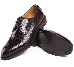 2017 mens chaussures marron confortables Brown / noir serpentine confortable hommes affaires chaussures cuir véritable chaussures de ville hommes chaussures de mariage oxfords bureau chaussures mens chaussures marron confortables sur la vente