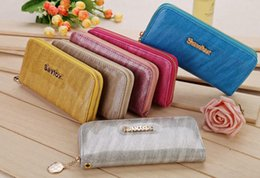 Wholesale Special Meteor Shower Pattern Women Wallets Advanced Patent Leather Wallet Card Holder Colorkeeping Alloy