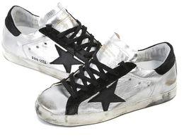 Wholesale New Golden Goose white New York Sneaker Worn Men Women Low Cut Shoes Sneakers