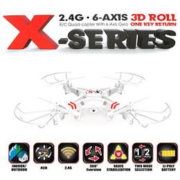 2016 drones de caméras aériennes X-5 RC Quadcopter 2.4G 4CH 6-Axe drone aérien professionnel, hélicoptère RC, 2,0 MP HD caméra 2 Go SD Card Prendre photo vidéo drones de caméras aériennes promotion