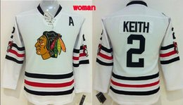Wholesale Cotton Womens Shirts Classic - 30 Teams-Wholesale CHEAP CHICAGO BLACKHAWKS WOMENS DUNCAN KEITH 2015 WINTER CLASSIC WHITE PREMIER STITCHED ICE HOCKEY JERSEYS SHIRTS
