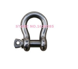 Wholesale M4 stainless Steel bow shackle electric windlass part electric chain hoist part