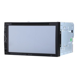 Wholesale 7 Inch HD TFT Color Display Universal Din Car DVD USB SD MP4 Player RDS UI Bluetooth FM AM Radio Car Audio Entertainment US STOCK K2432