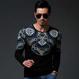 Wholesale 2015 Bronzing mens Outerwear best version wing printing pullover moleton Sweatshirts sport male slim tshirt clothes