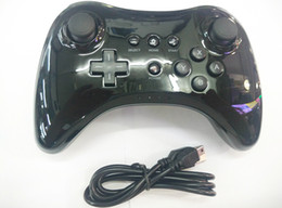 Wholesale Wireless Bluetooth Game Joypad Wireless Game Controller Play Joysticks For Wii U WiiU