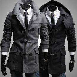 Fall and winter New Men Coat New Arrive Men Coat Personality Men Coat Men Slim Fit Coat Fashion Lapel Coat Free Shipping