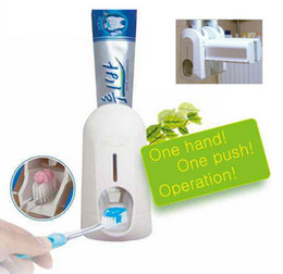 Wholesale Automatic Toothpaste Dispenser and Brush Holder Touch
