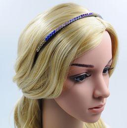 Girl Headband with Colorful Rhinestone New Fashion Hair Accessories High Quality Handmade Hair Jewellery for Wholesale