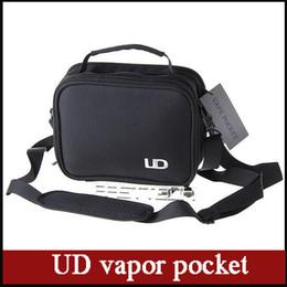 Wholesale 2015 new Authentic Youde UD Vapor Pocket Shoulder Strap Double Deck Belt Carry Case Vape portable bag fit all electronic cigarette