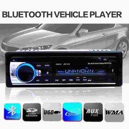 Wholesale High Quality Car Radio Bluetooth Stereo Head Unit Music Player MP3 USB SD AUX IN FM In dash IPod For phone V Car Audio Auto