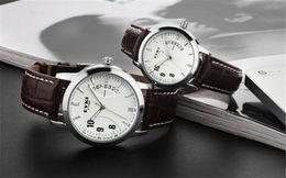 2017 los mejores relojes de moda de calidad Relojes de los hombres del reloj de hombre de 2015 superventas de la alta calidad de la manera EYKI E-Times de cuero del cuarzo del amante gran regalo H8645 los mejores relojes de moda de calidad promoción
