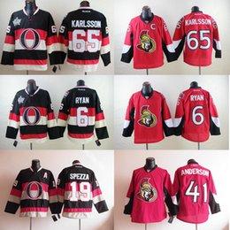 Wholesale Erik Karlsson Jersey Bobby Ryan Jason Spezza Craig Anderson Ottawa Senators Jersey Ice Hockey Jersey Sport