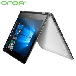 Wholesale Onda oBook Tablet PC inch IPS Screen Free Deform Laptop Windows10 HDMI GB GB Intel Atom X5