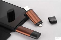 Usb chaud lecteur flash en Ligne-Hot DHL téléphone portable intelligent 64 Go USB 2.0 Flash Drive stylo disque U disque OTG stockage externe micro usb memory stick DHL Chaud 50pcs