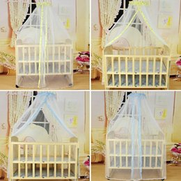 Wholesale Baby Crib Cot Insect Mosquitoes Wasps Flies Net For Infant Bed Folding Crib Netting Child Baby Mosquito Nets VT0111 Salebags