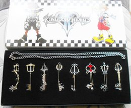 Wholesale pc set Kingdom Hearts Dearly beloved Arsenal necklace pendant jewelry anime peripheral
