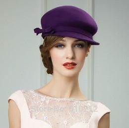 Wholesale top grade Imported Australian wool elegant classics women s fedoras wool felt fedoras hat