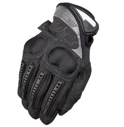 Wholesale Mechanix Wear M PACT COVERT WORK DUTY Ultra Knuckle Glove Tactical Impact Protection Cycling Full Finger Gloves Airsoft racing Hunting