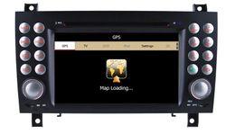 Wholesale Auto Radio Car DVD Player GPS Navigation for Mercedes Benz SLK SLK200 SLK280 SLK350 SLK55 with Bluetooth TV USB AUX Stereo