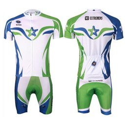 Wholesale NEW White star Team Cycling clothing Cycling wear Cycling jersey short sleeve Bib Shorts Suite Bianchi D