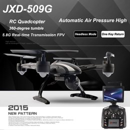 JXD 509G 5.8G FPV Wifi Camera RC Quadcopter with Camera RTF 2.4GHz Headless Mode One Key Return Real Time Video FSWB