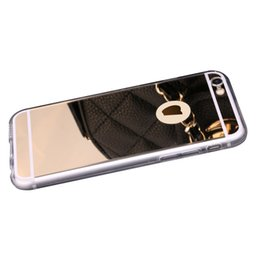 Wholesale iphone6 Apple phone shell tide plus inch acrylic mirror phone sets shell protective shell s