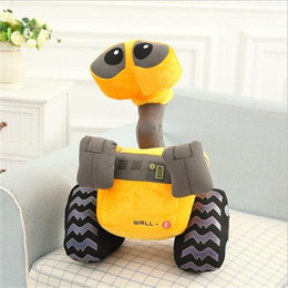 Wholesale Kids Plush Toys Doll Christmas Gift Big Size cm Robot WALL E Plush Toys Stuffed Toys Factory Supply Brinquedo FreeShipping