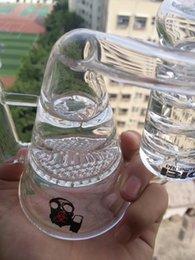 """Nid d'abeille recycleur à vendre-Le plus récent 8 """"pouces Recycler Glass Bong Helix Glass Pipes Oil Rigs avec grosses bong de verre Honeycomb Turbine Prec Bubbler Freezable Coil Oil Rigs"""