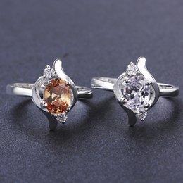 Wholesale Aneis Silver Jewelry Vintage Eyes Rings For women Bague Anillos De Plata Sterling Silver Finger Ring JZ5509 LKNSPCR646