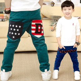 Wholesale New Baby Boy s Spring Autumn Long Pants Y Children s Clothing Brand Korean Styling Casual Cotton Printed Joggers