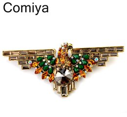 Wholesale Acrylic wing online shopping india for wedding invitations souvenirs casamento decoration eagle famous brand women Brooches