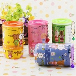 Wholesale Portable Wet Wipes Cute Floral Cartoon Canned Pumping Barrels Of Wet Wipes Car Wipes