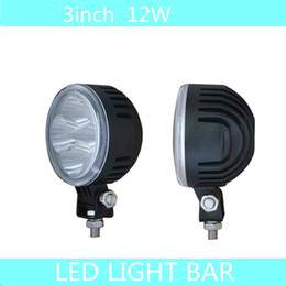 Wholesale 2PCS quot w LED W LED Working Light Fog Light Lamp for Jeep SUV ATV Off road Universal K Flood Spot Beam Truck Boat Cars