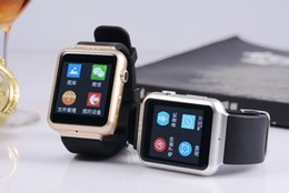 Wholesale Smart Watch K8 Android system with M pixels Webcam Wifi FM for Android Smart phones Support SIM Card smartwatch phone