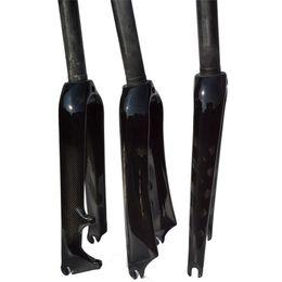 """451 3K Carbon Mini Velo bicycle Fork 20"""" 1 1 8"""" Rigid Forks For Minivelo Bike Caliper C Brake disc BMX brake"""