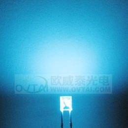 Wholesale High Quality and High lightness200pcs x3x4 Rectangular square type sky blue color led beads brightness600 MCD for backlight