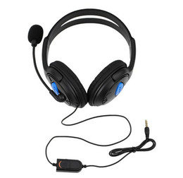 3.5mm Gaming Headset Headphones Earphone with Microphone for Sony PS4 PlayStation 4 Controller