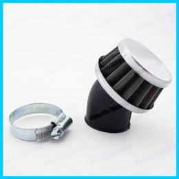 Wholesale Stub Bent Air Filter Angled degree mm Neck For Pit Dirt Bikes Quad ATV off road motorcycle order lt no track