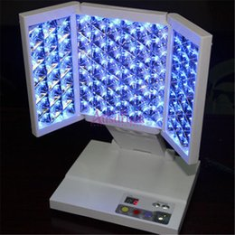 Brand New 3color blue red yellow Led Light Therapy PDT Facial Skin Rejuvenation Beauty Lamp Machine