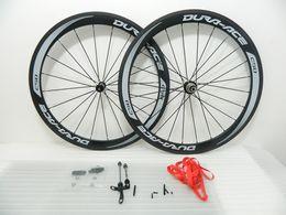 Wholesale News Ceramic Bearing hubs Wheels carbon mm Clincher bike wheels c carbon fiber road racing wheelset